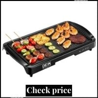 Electric Griddle, Deik 2 In 1 Indoor Grill