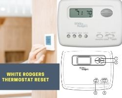 White rodgers thermostat reset