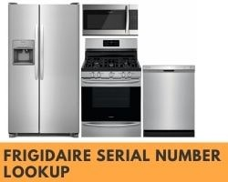 Frigidaire Serial Number Lookup