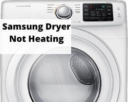 Samsung Dryer Not Heating