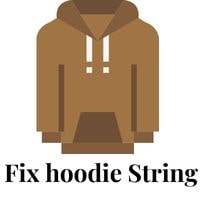 how to fix hoodie string
