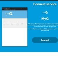 connect google assistant to myq with ifttt