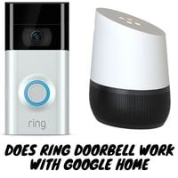 does ring doorbell work with google home